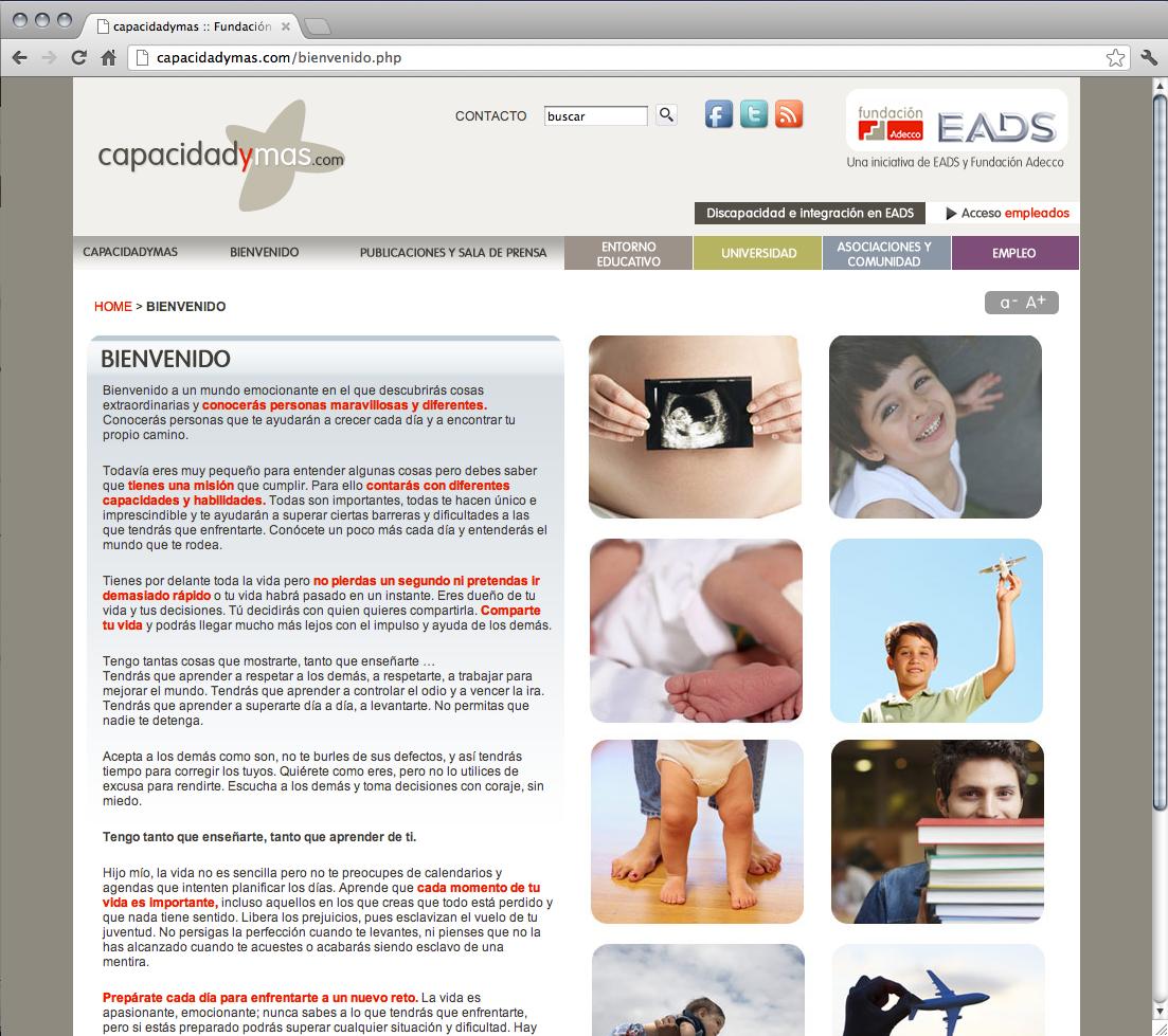 Capacidadymas.com