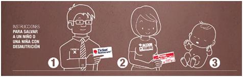Ticket Restaurant - Acción contra el Hambre