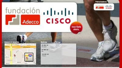 IV Carrera de las capacidades Adecco Cisco